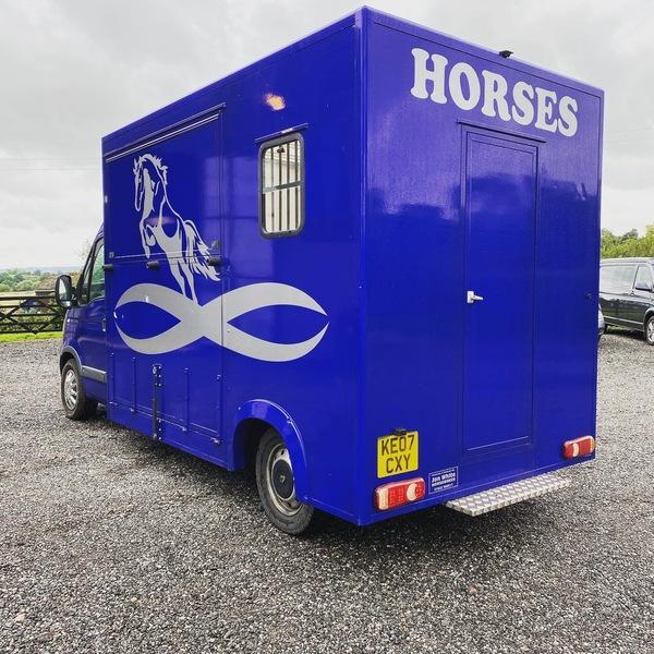 Automatic horsebox 3.5t